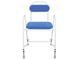 YESS Mediatric™ Perching Stool with Arms & Padded Back
