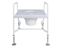 YESS Mediatric™ Raised Toilet Seat with Floor Fixing Feet