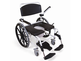YESS Mediatric™ Self Propelled Showering Toileting Commode Chair