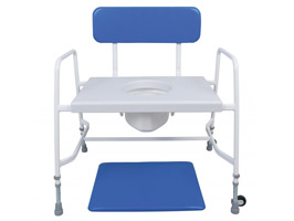 YESS Super Bariatric Adjustable Height Commode