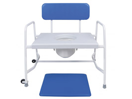 YESS Super Bariatric Fixed Height Commode