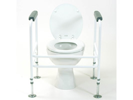 YESS Toilet Surround with Floor Fixings