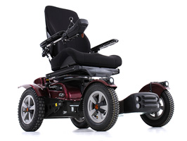 Permobil X850 Corpus 3G Powered Wheelchair