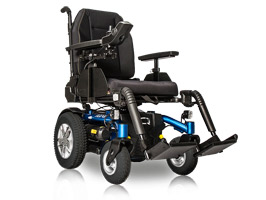Quantum Aspen Power Wheelchair