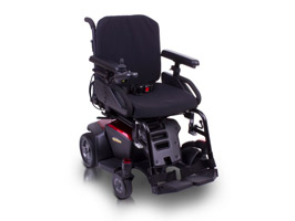Quantum Kozmo Power Wheelchair