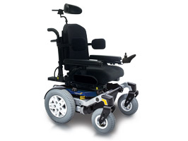 Quantum Lightning Power Wheelchair