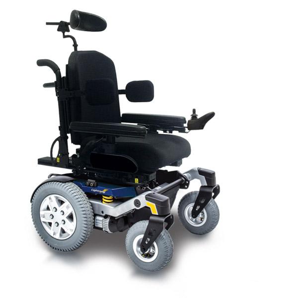 Quantum Lightning Power Wheelchair