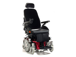 Quickie Salsa MND Neurochair Power Wheelchair