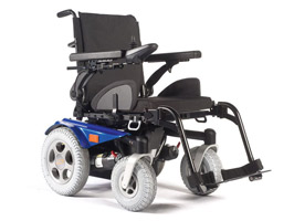 Quickie Salsa R2 Power Wheelchair