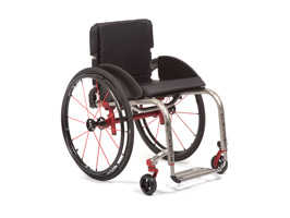 Titanium Rigid Manual Wheelchairs