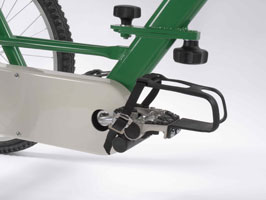 Self Balance Pedal with Toe Clip