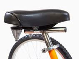 T Style Seat Post & Saddle